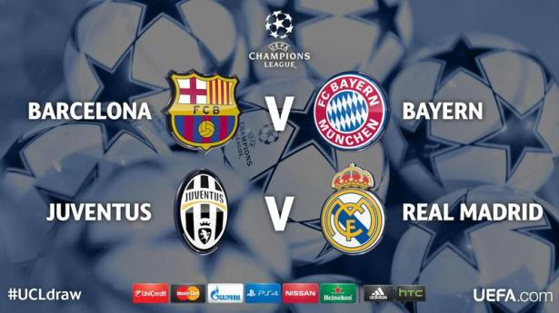 Champion League Semi Draw